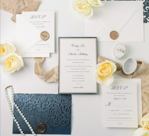 Wendy & Charles Invitation Suite