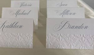 Place Cards or Escort Cards